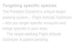 Targeting specific speices